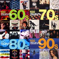 Cele mai bine vandute albume ale anilor '60-'90