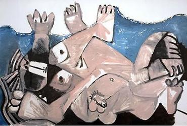 Pablo Picasso - The Embrace (1972)